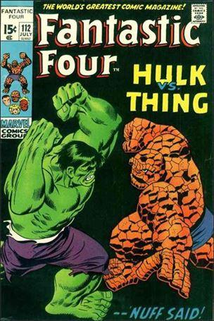 Fantastic Four (1961) 112-A