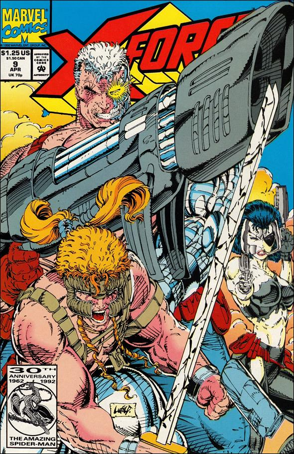 X-Force (1991) 9-A by Marvel