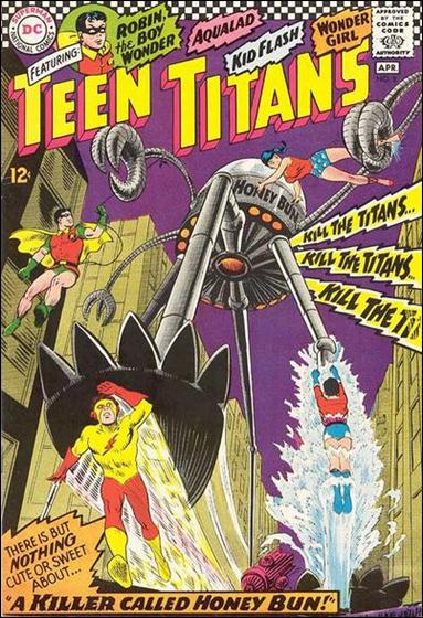 Teen Titans (1966) 8-A by DC