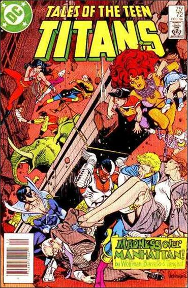 Tales of the Teen Titans 72-A by DC
