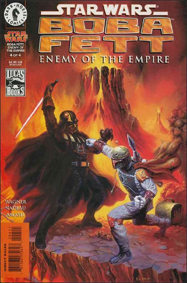 Star Wars: Boba Fett - Enemy of the Empire 4-A by Dark Horse