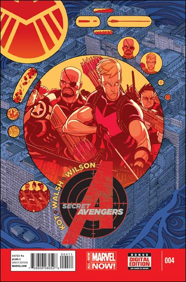Secret Avengers (2014) 4-A by Marvel