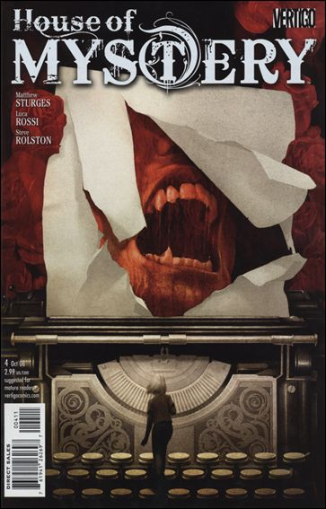 House of Mystery (2008) 4-A by Vertigo