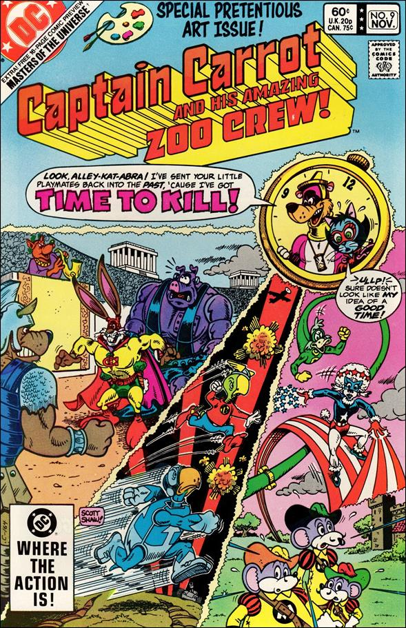 Captain Carrot and His Amazing Zoo Crew 9-A by DC