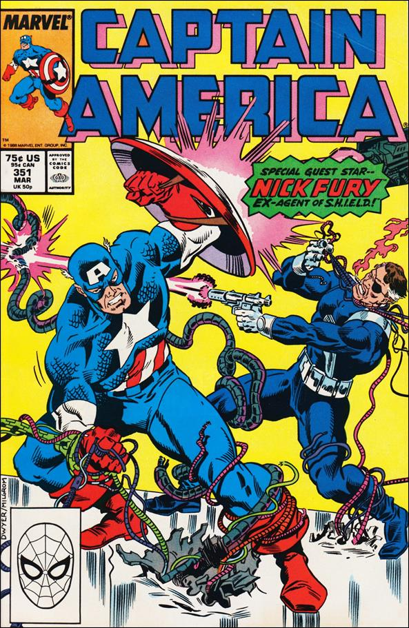 Captain America (1968) 351-A by Marvel