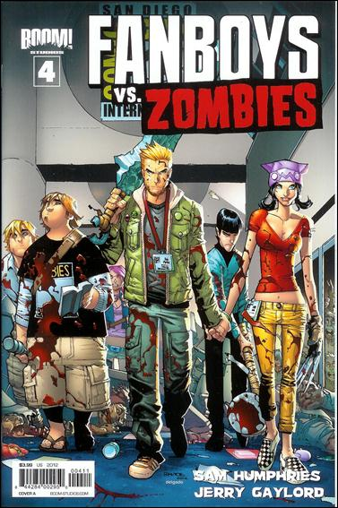 Fanboys vs. Zombies 4-A by Boom! Studios