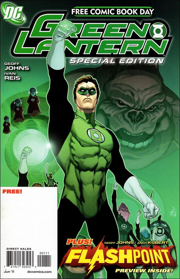 FCBD 2011 Green Lantern Flashpoint Special Edition 1-A by DC