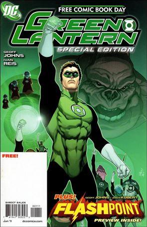 FCBD 2011 Green Lantern Flashpoint Special Edition 1-A