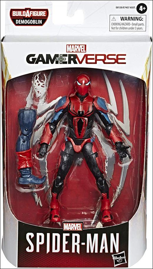 Marvel Legends Series: Spider-Man (Demogoblin Series) Mark III Armor Spider-Man by Hasbro