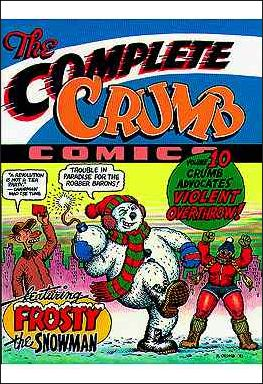 Complete Crumb Comics 10-A by Fantagraphics