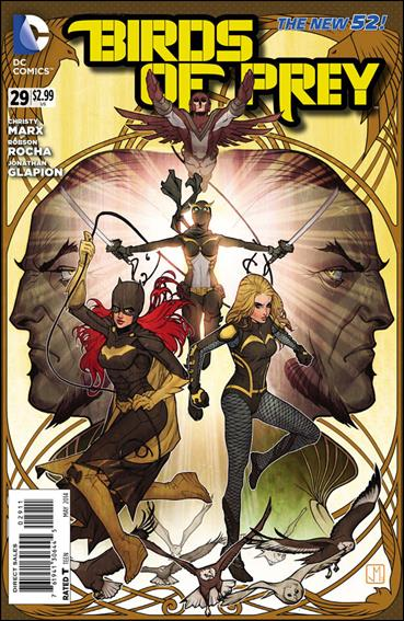 Birds of Prey (2011) 29-A by DC