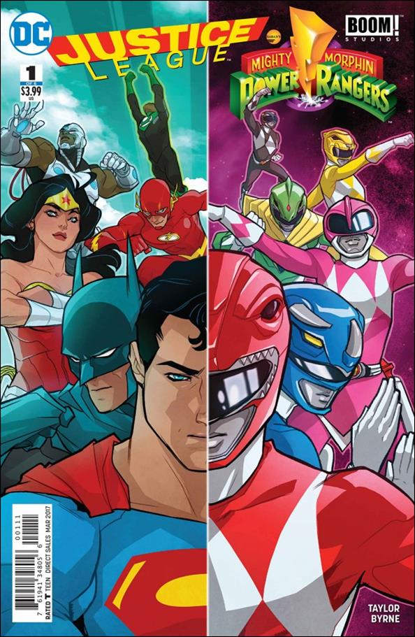 Justice League/Power Rangers 1-A by DC