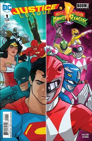 Justice League/Power Rangers 1-A