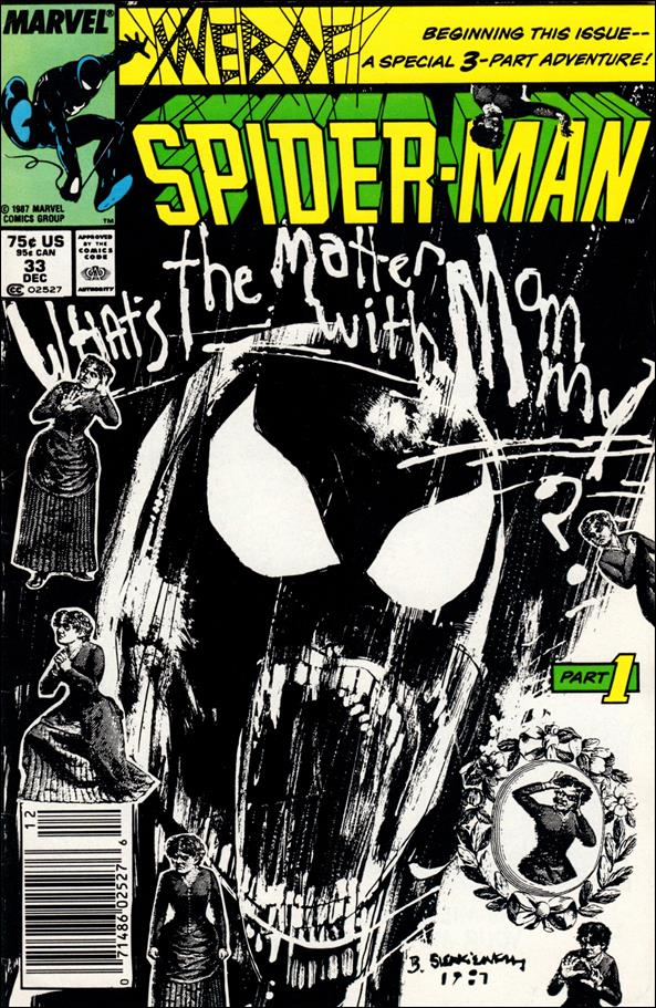 Web of Spider-Man (1985) 33-A by Marvel