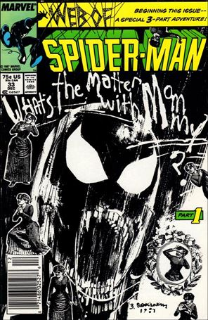 Web of Spider-Man (1985) 33-A
