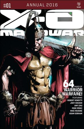 X-O Manowar Annual 2016 1-A