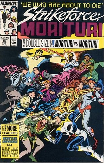 Strikeforce: Morituri 13-A by Marvel