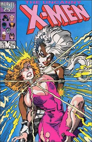 Uncanny X-Men (1981) 214-A