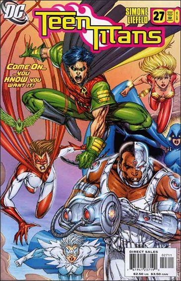 Teen Titans (2003) 27-A by DC