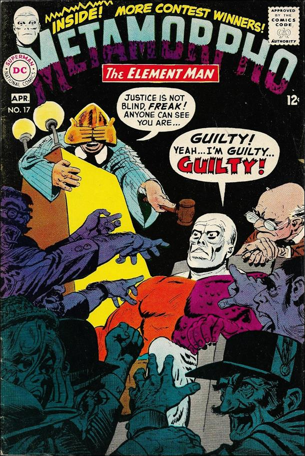 Metamorpho (1965) 17-A by DC