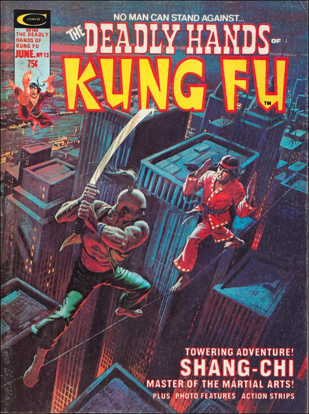 Deadly Hands of Kung Fu 13-A by Marvel