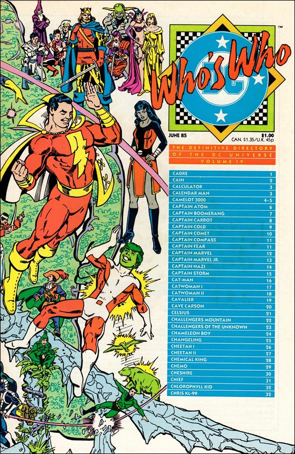 Who's Who: The Definitive Directory of the DC Universe 4-A by DC