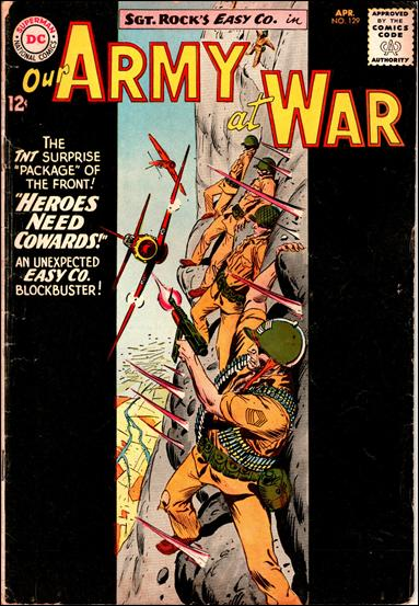 Our Army At War (1952) 129-A by DC