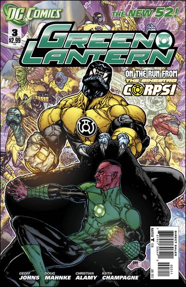 Green Lantern (2011) 3-A by DC