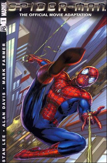 Spider-Man: The Official Movie Adaptation 1-A by Marvel