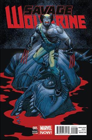 Savage Wolverine 5-B