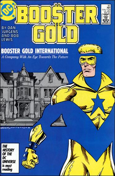 Booster Gold (1986) 16-A by DC