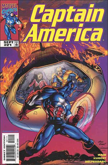 Captain America (1998) 21-A by Marvel