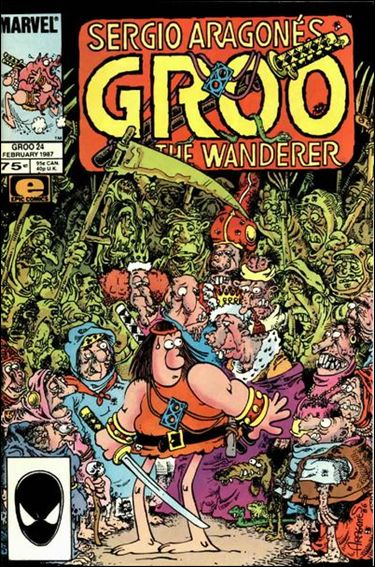 Sergio Aragones Groo the Wanderer 24-A by Epic