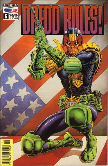 Dredd Rules! 6-A by Fleetway Quality