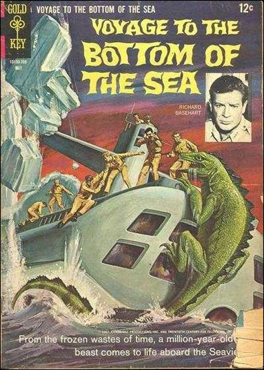 Voyage to the Bottom of the Sea 8-A by Gold Key