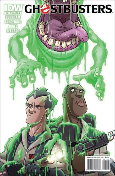 Ghostbusters (2011) 2-A by IDW