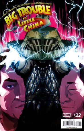 Big trouble in little china comic book