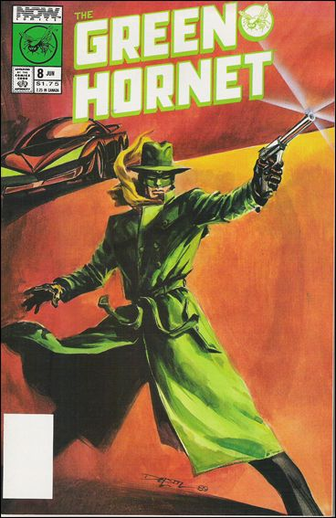 Green Hornet (1989) 8-A by Now Comics