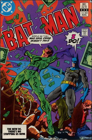 Batman (1940) 362-A by DC