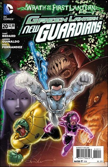 Green Lantern: New Guardians  20-A by DC