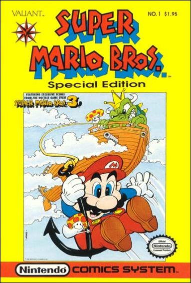 Super Mario Bros. Special Edition 1-A by Valiant