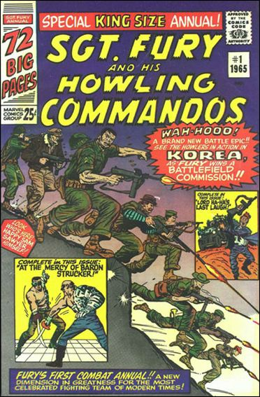Sgt. Fury and His Howling Commandos Annual 1-A by Marvel