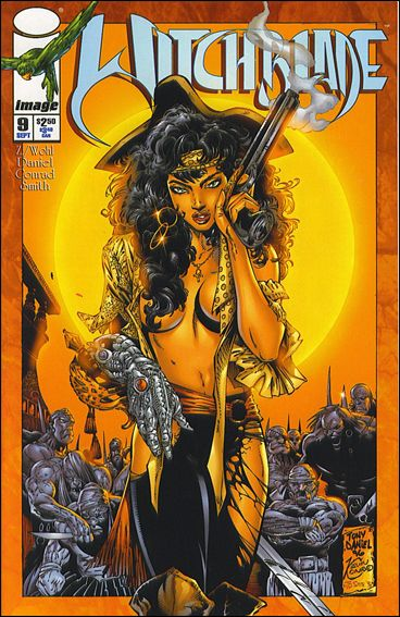 Witchblade 9-B by Top Cow