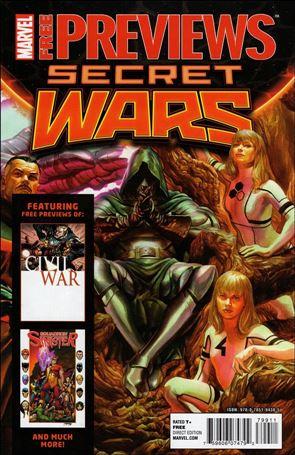 Marvel Previews Secret Wars nn1-A
