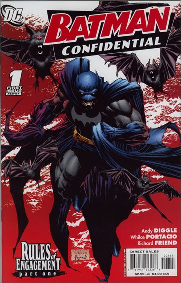 Batman Confidential 1-A by DC