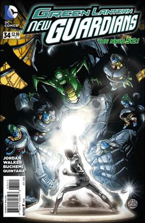 Green Lantern: New Guardians  34-A