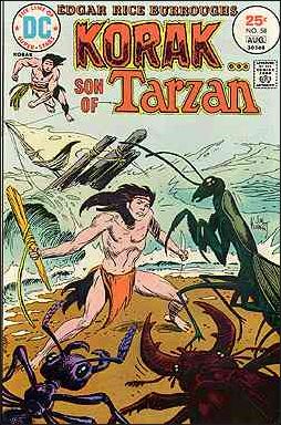 Korak, Son of Tarzan 58-A by DC