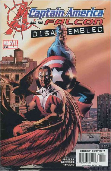 Captain America & The Falcon 5-A by Marvel
