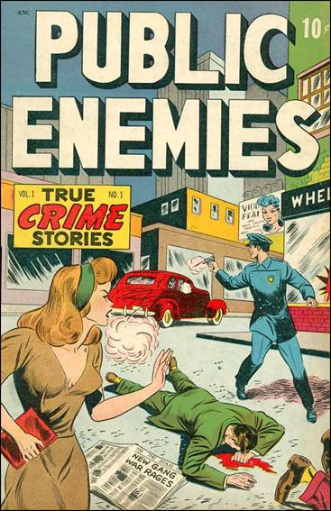 Public Enemies (1948) 1-A by D.S. Publishing