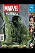 Marvel Fact Files 71-A
